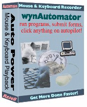 wynAutomator: Record and Playback Everything!